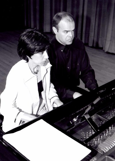 Ana González y Jorge Robaina. Concierto Sonatas para piano de Muzio Clementi