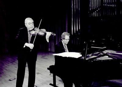 Víctor Martín y Agustín Serrano. Concierto Sonatas románticas para violín y piano
