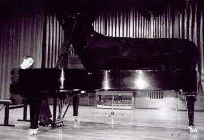 Emilio González Sanz. Recital de piano