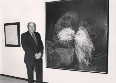 Amos Cahan. Exposición Arte español en Nueva York 1950-1970 Colección Amos Cahan