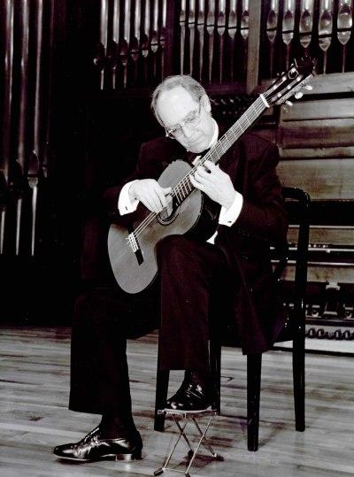 José Luis Rodrigo. Concierto Francisco Tárrega y su estela