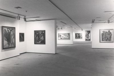 Vista parcial de la exposición De Marées a Picasso: Obras maestras del museo Wuppertal