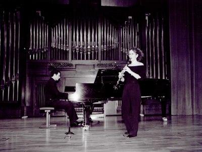 Carmen Cano Calonge y Javier Rovira. Concierto Música antigua española