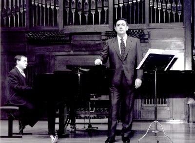 Antonio García Quijada y Fernando Turina. Recital de canto y piano