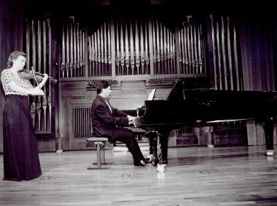 Margarita Marseglia y Mª José Gómez. Concierto Fantasías para piano