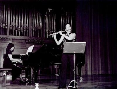 Patricia de No y Nozomi Isobe. Recital de flauta y piano