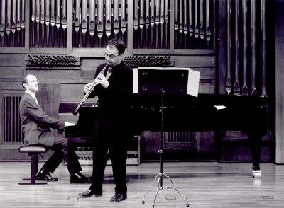 Salvador Barberá y Francisco Pérez Sánchez. Concierto Alrededor del oboe