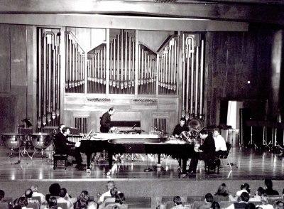 Neopercusión Centro, Duncan Gifford y José Gallego. Concierto Alrededor de la percusión