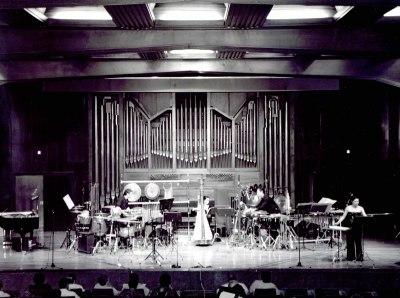 Neopercusión, Pilar Jurado y Laura Hernández. Concierto Alrededor de la percusión (2003)
