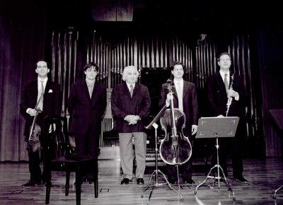 Antón García Abril, Asko Heiskanen y Trío Arbós. Concierto Homenaje a Antón García Abril en su 70 aniversario - Aula de (Re)estrenos (48)