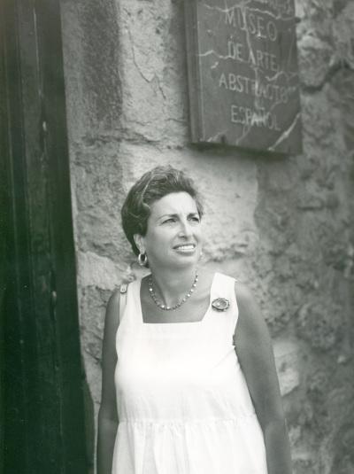 Rhoda Cahan. Exposición Arte español en Nueva York 1950-1970 Colección Amos Cahan