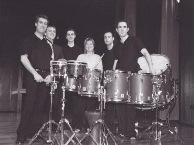 Juana Guillem y Neopercusión Grupo. Concierto Alrededor de la percusión (2003)