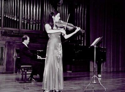 Cristina Blanco y Aníbal Bañados. Recital de viola y piano