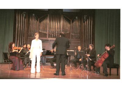 Grupo Tactum. Concierto Músicas para una exposición Kandinsky