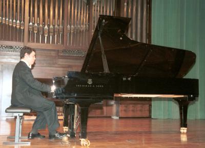 José Mª Domínguez. Recital de piano