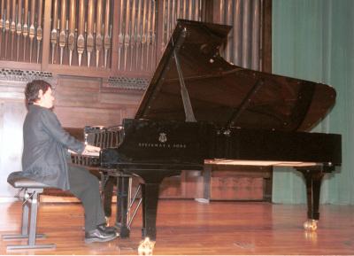 Adela Martín. Recital de piano