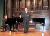 Juan Luque Carmona y Rafael Quero. Recital de canto y piano