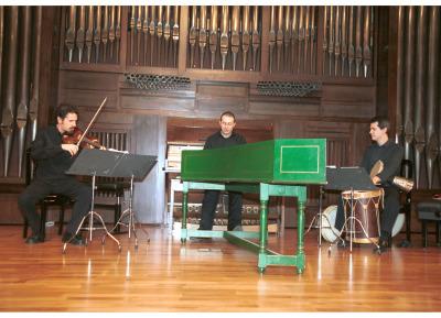 Joan Chic, David Mayoral, Jesús Gonzalo y Grupo Parnaso Español. Concierto Cinco siglos de danzas