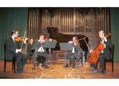 Dubhe Quarter, Bruno Vidal, Víctor Arriola, Emilio Navidad, José Enrique Bouché y Juan Carlos Cornelles. Concierto Dvorák en su centenario