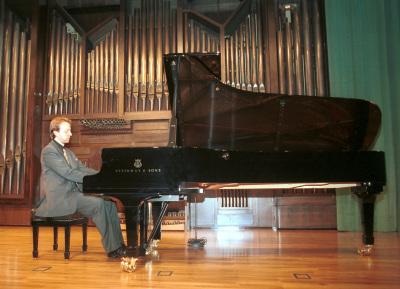 Roberto Prosseda. Concierto Piano italiano del siglo XX
