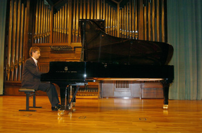 Daniel Blanch. Recital de piano