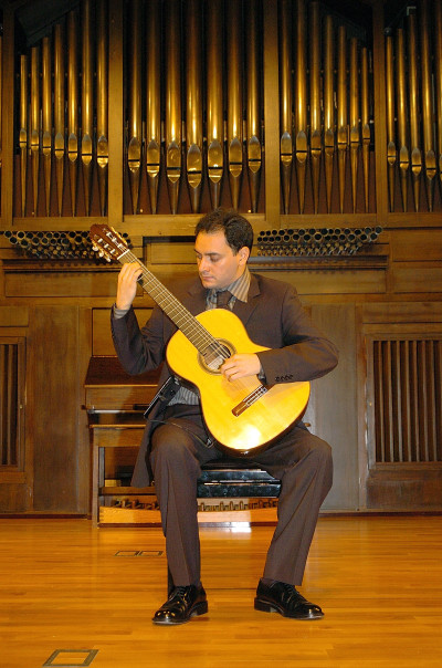 David Escribano. Recital de guitarra