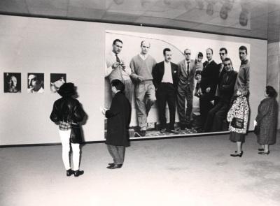 Vista parcial de la exposición El Paso después de El Paso En la colección de la Fundación Juan March