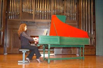 Laura Dearmas. Recital de clave