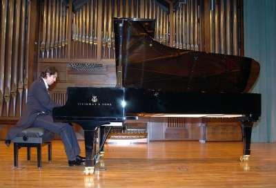 Javier Cembellín. Recital de piano