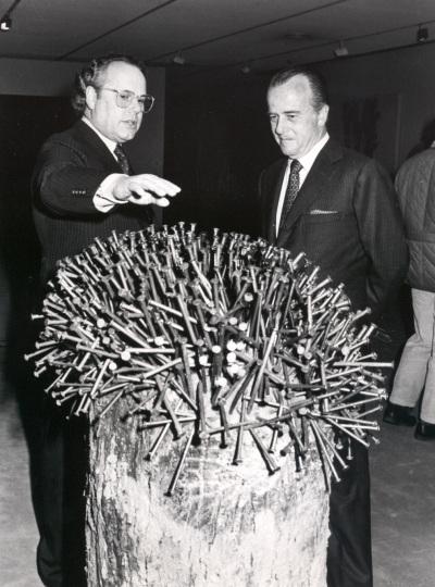 Jaime Urquijo y Gerhard Lenz. Exposición Zero, un movimiento europeo Colección Lenz Schönberg