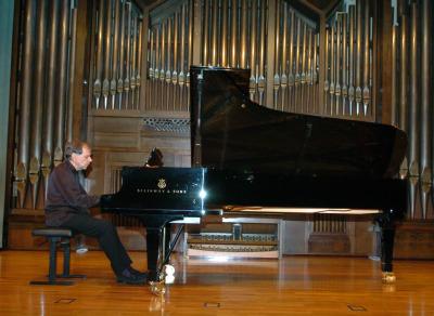 Josep Colom. Concierto Compositores de la naturaleza. Con motivo de la exposición Caspar David Friedrich: arte de dibujar