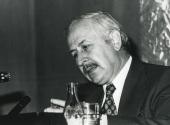 José Luis Pinillos Díaz en el ciclo La conciencia humana, 1975