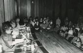 Betty Friedan. Conferencia sobre La mujer en la sociedad del futuro dentro del ciclo La mujer en la sociedad del futuro , 1975