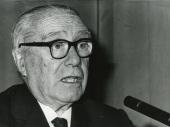Enrique Lafuente Ferrari. Conferencia sobre La pintura de Kokoschka dentro del ciclo En torno a la Exposición Oskar Kokoschka , 1975