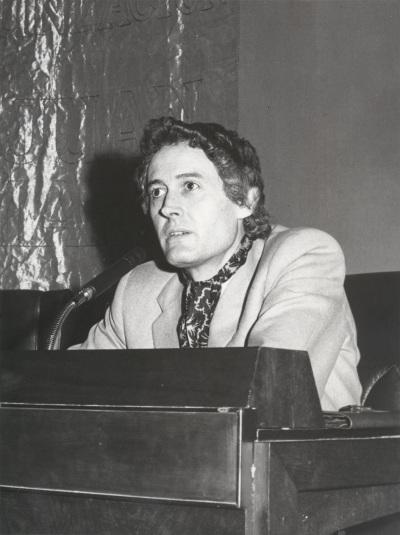 Félix Grance en el ciclo Literatura Viva