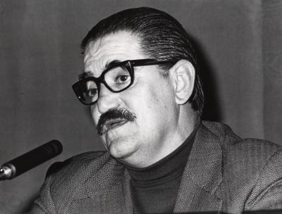 Lauro Olmo en el ciclo Literatura Viva