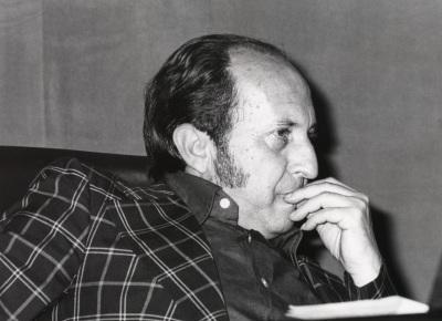 José María Rodríguez Méndez en el ciclo Teatro Español Actual