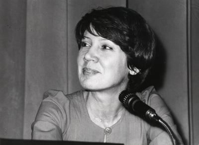 Patricia O'Connor en el ciclo Teatro Español Actual