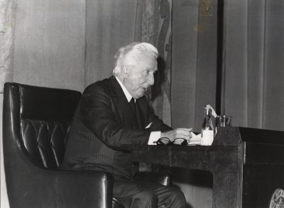 Aimé Maeght. Conferencia sobre El Giacometti que yo he conocido. Conferencia inaugural de la Exposición Alberto Giacometti