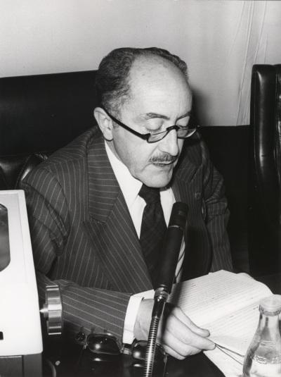 Emilio Alarcos Llorach. Conferencia sobre Feijóo y la España de su tiempo dentro del ciclo Centenario de Feijóo