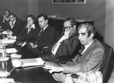 Luis Michelena en el ciclo sobre Lenguaje en Periodismo Escrito