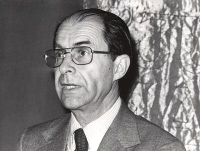 Juan Marichal. Conferencia sobre El designio constitucional: de Moreno a Bolívar (1810-1830) dentro del ciclo Cuatro fases de la historia intelectual latinoamericana