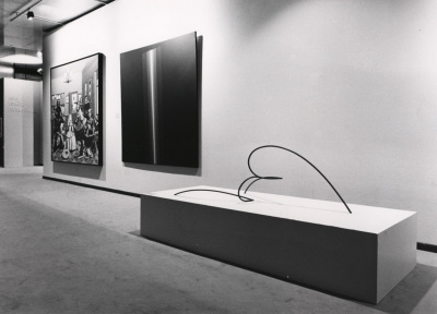 Vista parcial de la exposición Arte español contemporáneo Colección de la Fundación Juan March