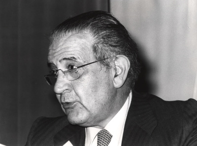Luis Sánchez Agesta en el ciclo La estructura de Europa