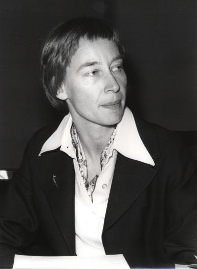 Corinna Delkeskamp en el IX Simposio Interdisciplinar de Filosofía y Medicina