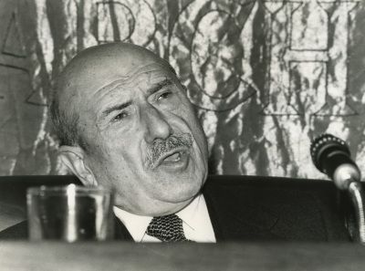 Ricardo Carballo Calero. Conferencia sobre Castelao dentro del ciclo Cuatro escritores gallegos