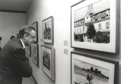 Hans Heinrich von Thyssen-Bornemisza. Exposición Edward Hopper