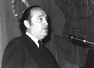 Claudio Guillén. Conferencia sobre Historia dentro del ciclo Introducción a la literatura comparada