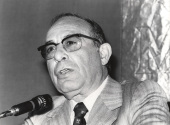 Mariano Yela en el ciclo Problemas actuales de la psicología científica