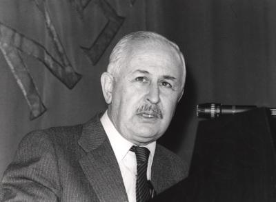 José Luis Pinillos Díaz en el ciclo Problemas actuales de la psicología científica